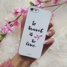 Travel Addict - iPhone and Samsung case #anukedesign #iphonecase #samsungcase #traveladdict
