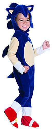 Rubie's Costume Co Baby Boys' Sonic Romper Costume, Multi, 1-2 Years -- This is an Amazon Affiliate link. Continue to the product at the image link.