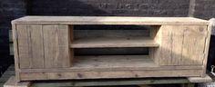 Tv meubel, oud steigerhout