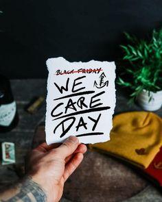 """❤[26.11.20]Morgen ist es wieder soweit❤ - 😊WE CARE DAY: 20% GEHEN AM FREITAG AN UNSERE STRONCTON FOUNDATION. Somit können wir wieder gemeinsam weitere gute und wichtige Zwecke unterstützen. - 🤙🏼Vor zwei Jahren hab ich mich entschlossen, mit Stroncton nicht mehr an diesem """"Konsum-Event"""" teilzunehmen. Mitlerweile ist es echt meeega schön zu sehen, dass viele weitere Brands... Clothing Company, My Design, Motivation, Heart, Instagram, Inspiration, Clothes, Good Things, Friday"""