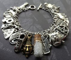 Road So Far Supernatural Charm Bracelet To Live and Die by AngelQ, $29.95