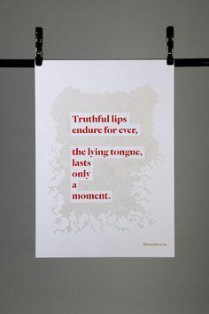 Illuminated Proverbs on Behance