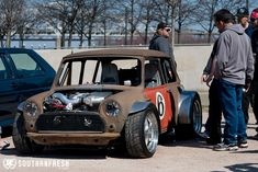 Mad Porsche 944 Turbo Engined Mini Cooper