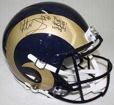 TODD GURLEY Autographed / Inscribed Rams Proline Helmet STEINER LE 30 - Game Day Legends - www.gamedaylegends.com Sports Memorabilia