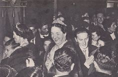 Princess Anne of Orléans, mother of Archduchess Margherita wearing the Savoy-Aosta Tiara in Looks like a fun party. Antique Photos, Vintage Photographs, The 5th Of November, 12 October, Royal Families Of Europe, Archduke, Diamond Tiara, Princess Anne, Royal Jewelry
