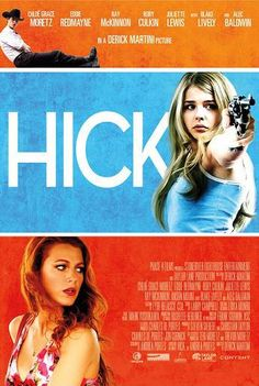 Hick, directed by Derick Martini, is based on the novel of the same name by Andrea Portes. A 13-year-old Nebraska girl, Luli (Chloë Moretz), runs away from her alcoholic parents, bringing along a pistol. After she is taken under the wing of drifter Glenda (Blake Lively), who uses her in cons and makes her an accessory to a robbery, both their lives are threatened by erratic drifter Eddie (Eddie Redmayne). >>> More including trailer and Tweets after the Jump...