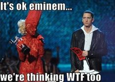 Oh my, is that even human? is listed (or ranked) 1 on the list The Best Eminem Memes of All Time Eminem Funny, Eminem Memes, Eminem Lyrics, Eminem Rap, Funny Shit, Stupid Funny Memes, Funny Stuff, Memes Humor, Funny Humor