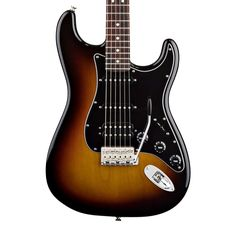 Fender American Special Stratocaster HSS with Rosewood Fingerboard - 3-Color Sunburst with Gig Bag
