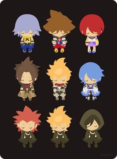 Kingdom Hearts by rizunm on Tumblr