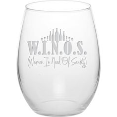 21 oz stemless wine glass, made and decorated in the USA. High quality, durable. Hand wash to maintain satin-etched decorative finish.