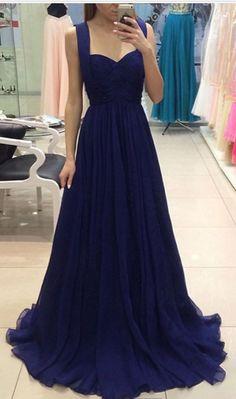 Prom Dresses, Long Navy Prom Dress,Beautiful Formal Gown,Evening #prom #promdress #dress #eveningdress #evening #fashion #love #shopping #art #dress #women #mermaid #SEXY #SexyGirl #PromDresses