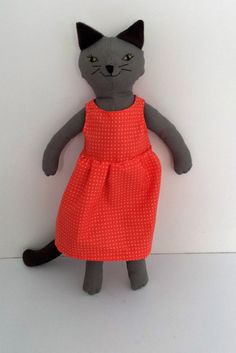 Rag Doll Cat by NuLookVintageDesign on Etsy
