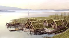 The nominated prehistoric pile dwellings around the Alps included 111 out of 1,000 pile-dwelling settlements found in six countries around the Alps. The protected World Heritage sites include remains of settlements dating back from around 5000 to 500 BC. The remains were found below the water, on the edges of lakes, along rivers, and in wetlands. It is thanks to water that organic substances such as wood, fabrics, plant remains and skeletons have survived until the present day. Bushcraft, Medieval, Prehistoric Man, Primitive Survival, Ancient History, European History, Ancient Aliens, American History, Stone Age