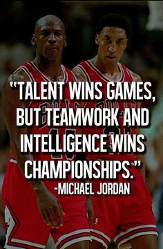 Michael Jordan motivational quotes help to inspire athletes of all kind. The best Michael Jordan motivational quotes. Nba Quotes, Sport Quotes, Motivational Quotes, Inspirational Quotes, Inspirational Basketball Quotes, Game Day Quotes, Athlete Quotes, Teamwork Quotes, Sports Team Quotes