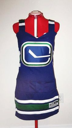 Would You Wear This Canucks Dress?...dress no, apron, yes
