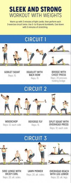 Full Body Workouts, Hand Weight Workouts, Full Body Circuit Workout, Full Body Weight Workout, Body Workout At Home, Body Weight Training, Strength Training Workouts, At Home Workout Plan, Gym Workouts