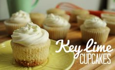 Key Lime #Cupcake #Recipe