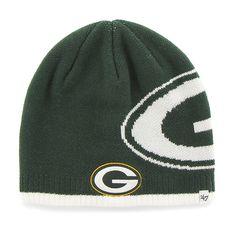 3f5d0279c25 Green Bay Packers Peaks Beanie Dark Green 47 Brand Hat