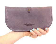 women wallet/leather wallet woman/ leather women by AyeletShachar