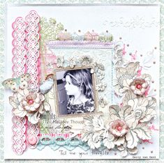 Tell me your thoughts - Scrapbook.com (created by Gerry van Gent from Websters Pages) Wendy Schultz onto Scrapbook Art.