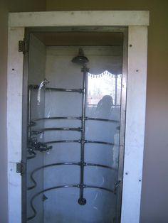 1908 Shower enclosure