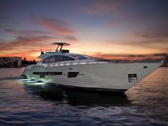 Yacht with lights - Seatech Marine Products / Daily Watermakers
