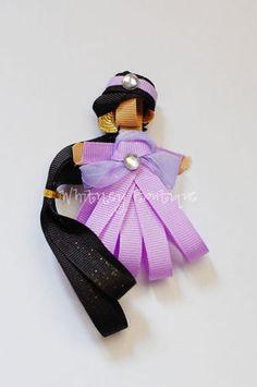 Disney Jasmine Ribbon Sculpture Hair Clip