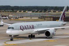 [Pics] Qatar Airways Airbus A350 at Brussels Airport - Luchtzak.be