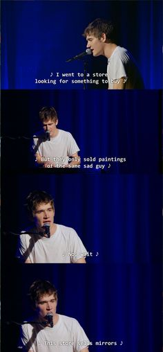 """...See what I did there?"" Bo Burnham."