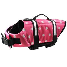 Eaagd Dog Life Jacket - Quick Release Easy-Fit Adjustable Dog and Cat Life Vest Preserver ** Can't believe it's available, see it now : Cat Apparel