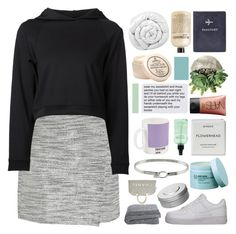 """""""BABY, YOU JUST LOOK SO GOOD"""" by d-isappear ❤ liked on Polyvore featuring NIKE, J.Crew, Getting Back To Square One, Brinkhaus, The Body Shop, Byredo, NARS Cosmetics, philosophy, FOSSIL and Hermès"""