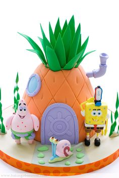 I love this person's blog. The cakes are flawless. I dream about being this good. Oh, and Spongebob is awesome!