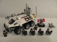 The Armoury • Noxarian APC (Peacekeeper Class) [Oh yeah! This was TOTALLY a G.I.Joe set from the late 80's!]