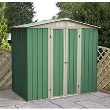 Metal Shed 6ft x 4ft Green
