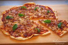 TULPPAANIUNI: Gluteeniton pizza, maailman paras!!! Gluten Free Bakery, Vegan Gluten Free, Gluten Free Recipes, A Food, Good Food, Food And Drink, Yummy Food, Wine Recipes, Cooking Recipes