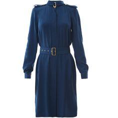 Diane von furstenberg dresses BLUE ($290) ❤ liked on Polyvore