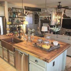 Gorgeous 80 Modern Farmhouse Kitchen Cabinets Makeover Ideas https://insidecorate.com/80-modern-farmhouse-kitchen-cabinets-makeover-ideas/