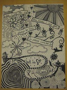 Beatles doodle