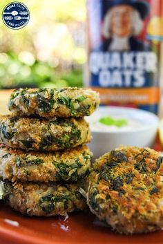 Make fritters, not waste. Instead of throwing away veggies that are about to go bad, use this recipe and turn almost-spoiled veggies into fun fritters! Swap the Kale Recipes, Vegetarian Recipes, Healthy Recipes, Recipies, Healthy Options, Plant Based Snacks, Plant Based Recipes, White Bean Puree, How To Cook Kale