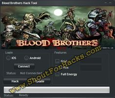 Blood brothers Hack Tool Cheat 2016 tool download. With updated Blood brothers Hack Tool you will have just fun. Try Blood brothers Hack Tool tool. Blood brothers Hack Tool working with last update.