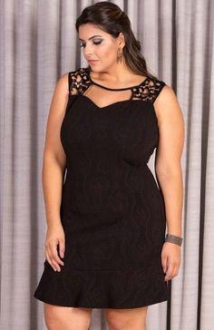 Vestido Plus Size Mary Moon