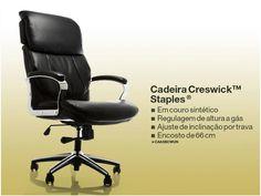 CADEIRA CRESWICK™ STAPLES®