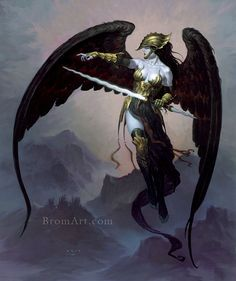 Artwork by Gerald Brom http://geekshizzle.com/2013/04/17/gerald-brom-our-featured-artist-of-the-month/