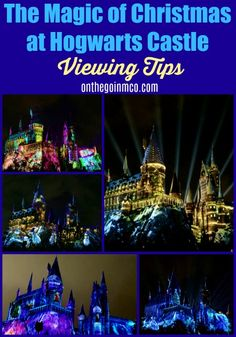 The Magic of Christmas at Hogwarts Castle unfolds with dazzling projections of holiday spirit inspired by the words of JK Rowling.