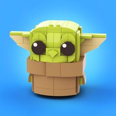 Baby Yoda - My stuff - Lego Minecraft, Minecraft Buildings, Minecraft Skins, Lego Disney, Lego Friends, Lego Duplo, Avion Lego, Lego Creations Instructions, Modele Lego
