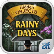 Free Nook App - Hidden Objects Rainy Days & 3 puzzle games