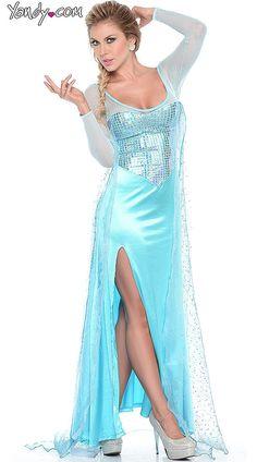 Sexy Elsa From Frozen Halloween Costume