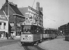 Koemarkt - Schiedam - Met lijn 1 naar 'de stad' .... Rotterdam