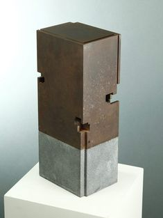 HIERRO Y ACERO INOXIDABLE « Jorge Yazpik Sculpture Metal, Abstract Sculpture, 3d Wall Art, Wall Art Decor, Corten Steel, Metal Models, Wood Glass, Street Art Graffiti, Land Art