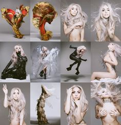 Gaga fashion. Nick Knight photography